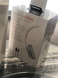 Brand new never opened Solo 3 Wireless Beats Matte Silver  Silver Spring, 20910