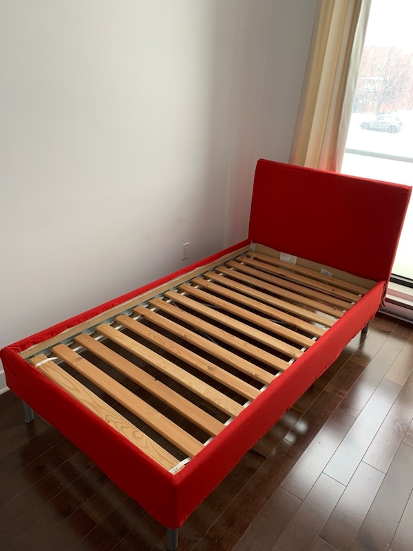 Upholstered Single Bed
