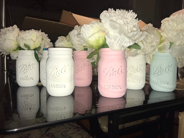 Used 9 Vintage mason jars for sale in Brentwood - letgo c46c42d2f228