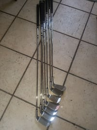 Set of knight left handed golf clubs Del City, 73115