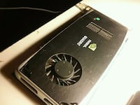 Nvidia Quadro FX 1gb graphics card Vancouver, V5M 1S1