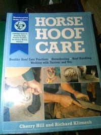 Horse hoof care book