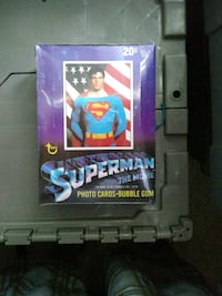 1978 Topps Superman wax box Unopened Port Orange, 32129