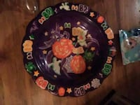 Plastic bowl Halloween decor  Afton