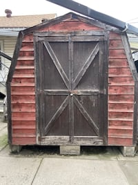Wooden Barn Shed