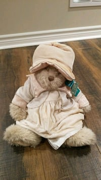 baby's white and brown bear plush toy New Tecumseth, L9R 2E6