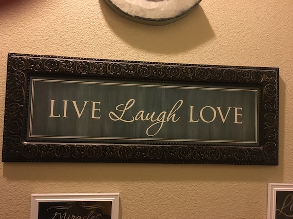 Used Metal Live Laugh Love Wall Decor Beautiful Home Decor Need