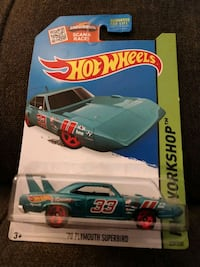 70 Plymouth Superbird HotWheels Car 229/250 Charleston, 29414