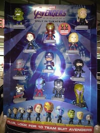 MCDONALD'S AVENGER END GAME DISPLAY.  Clearwater, 33755