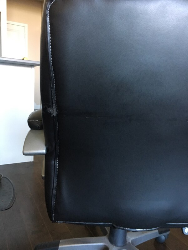 Used Reclining Office Chair