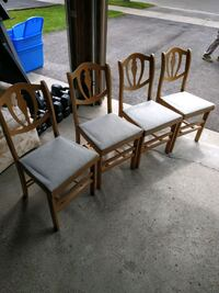 Foldable Wooden Chairs Vaughan, L4J