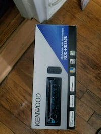 Kenwood  car radio with remote control Lawrence, 11559