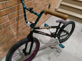 Custom Mirraco 20 inch BMX Bike