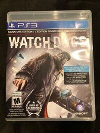 PS3 Game Watch Dogs & Grid barely used  Vaughan, L4J 4S9