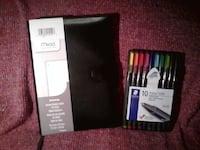 Journal and choice of pencils,art pens or markers. Brampton
