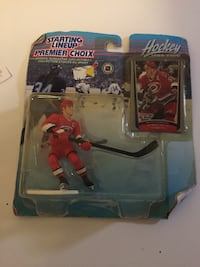 Starting Lineup Premier Choix Hockey action figure pack