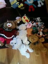 assorted animal plush toys Calgary, T2S 2R2
