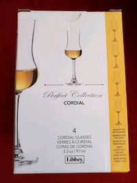 Libbey Perfect Collection Cordial Glasses Toronto, M1B 5L5