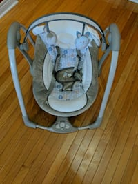 baby's gray and white swing chair Vaughan, L6A 1S6