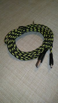 3 meter micro usb cable Edwards, K0A 1V0