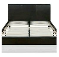 Queen black or grey Bed with Mattress Hollywood, 33023