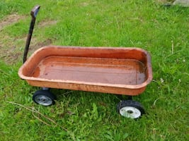 All Metal Vintage Henry Express Pull Wagon