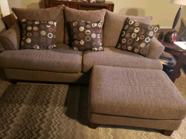 Pictures On White Sofa Set With Crystals