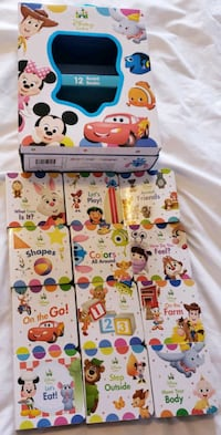 12 Disney Baby Mini board books - $11 Toronto, M9B 6C4