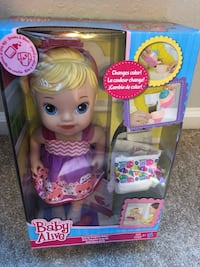 Baby Alive Doll $8.00 Virginia Beach, 23452