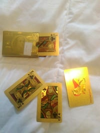 Gold Playing cardst