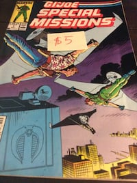 JUST REDUCED comic G.I. Joe Special Missions    Rockville