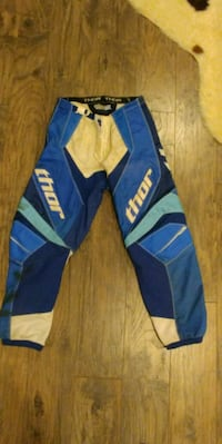 blue and yellow Adidas track pants Notre-Dame-de-l'Île-Perrot, J7V 8X8