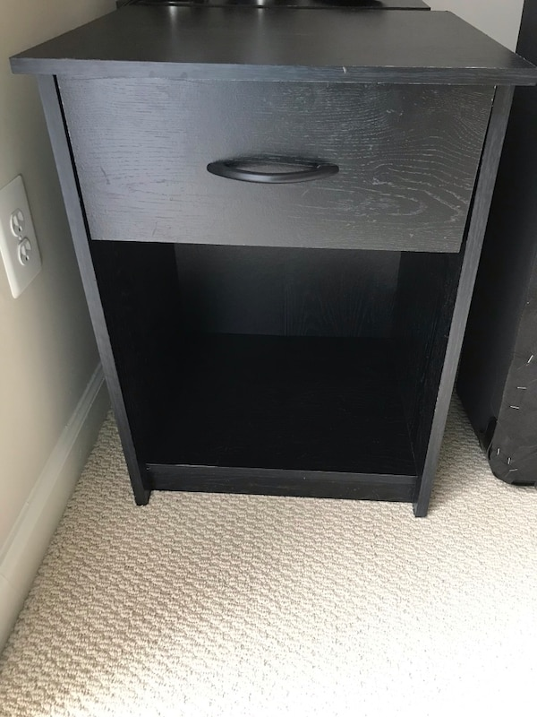 2 Nightstands with drawer $30 for both!
