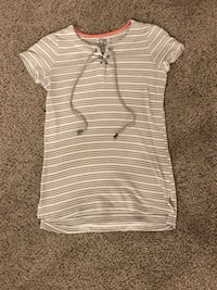White and Gray Striped Shirt Ogden, 84401