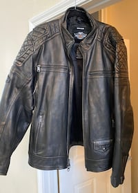 Men's XL Leather Harley Davidson jacket Henderson, 89074