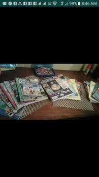 assorted sticker packs and booklets screenshot Weslaco, 78596