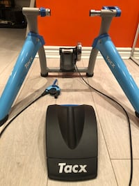 Tacx Satori smart trainer with tacx tyre Montreal-West, H4B