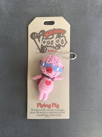 Watchover voodoo doll: flying pig 542 km