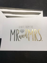 Box of 30 thank you cards -wedding Mont-Royal, H3R