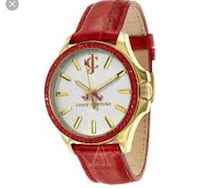 Juicy couture red and gold watch Markham, L3T 2C7