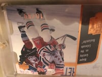 wayne Gretzky vs the Colorado Avalanche trading card Gatineau, J8P 0B2
