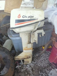 6  Chrysler boat motor London, 40741