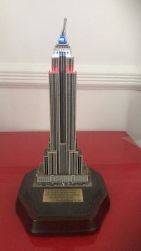 Light up Empire State Building statue collectible New York, 11223