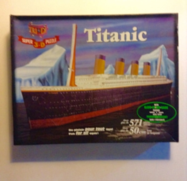 Titanic poster for sale  London
