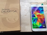 bianco Samsung Galaxy S5 withbox
