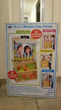 4 in 1 Wooden Play Center Albuquerque