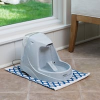 Drink Well Platinum pet water fountain - like new - delivery is free