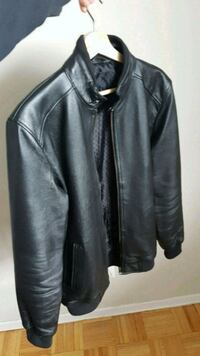 Men's leather jacket medium new  Toronto, M6H 2W9