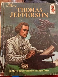 Thomas jefferson book 1967 Paterson, 07505