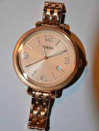 Fossil Heather Rose Gold Womens Watch